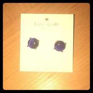 Kate Spade ♠️ Indigo Blue Earring Studs